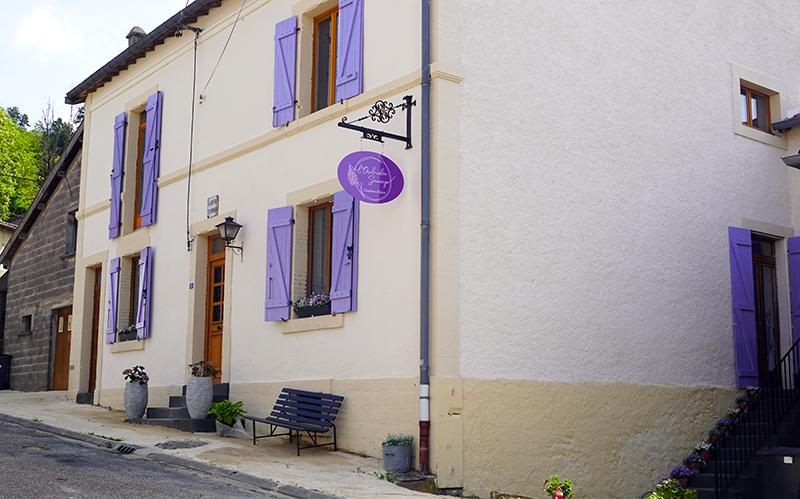 L'Orchidée Sauvage Chambre d'Hôtes voorkant huis