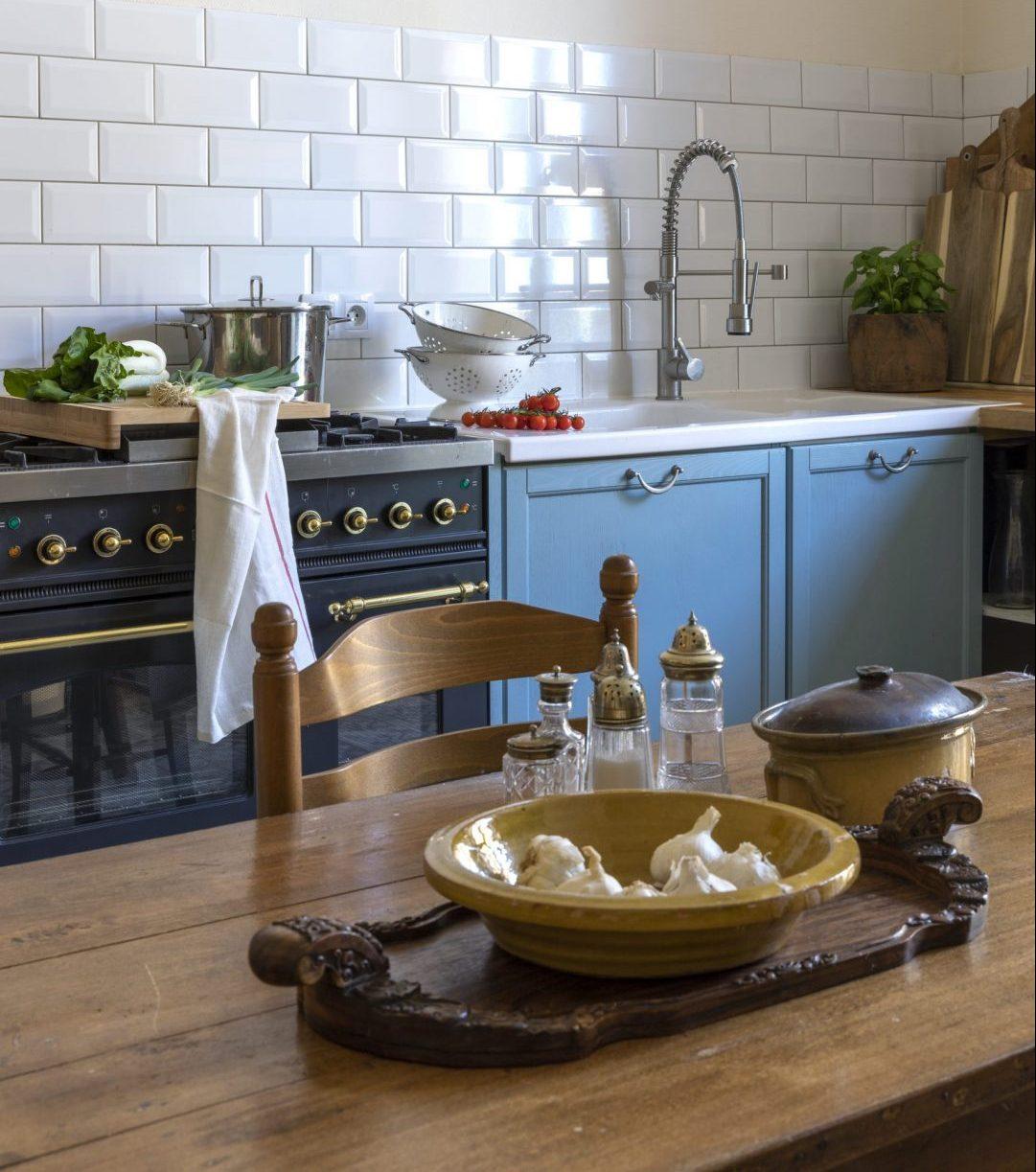 L´Orchidée Sauvage Keuken brocante wonen landelijke stijl