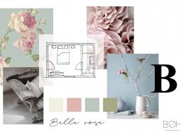 L'Orchidée Sauvage Belle Rosé moodboard